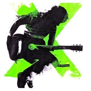 Ed Sheeran Concert T Shirt X Tour 4th Leg 2014